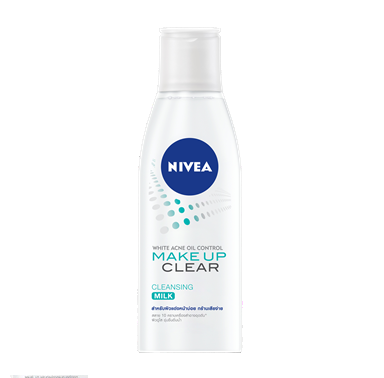 NIVEA WHITE ACNE OIL CONTROL CLEAR CLEANSING MILK ニベア 200ml 4個セット