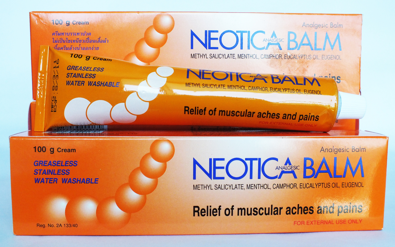NEOTICA BALM 鎮痛消炎の高いバーム100g 2個セット