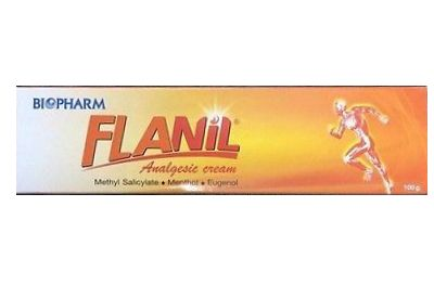 FLANIL Aualgesic cream 筋肉痛