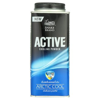 SNAKE BLAND Active Cooling powder Arctic Cool 150グラム 2個セット
