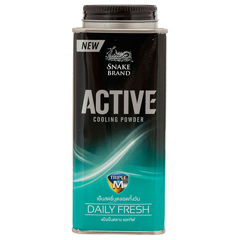 SNAKE BLAND Active Cooling powder Daily Fresh150g 2個セット