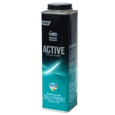 SNAKE BLAND Active Cooling powder Daily Fresh150g